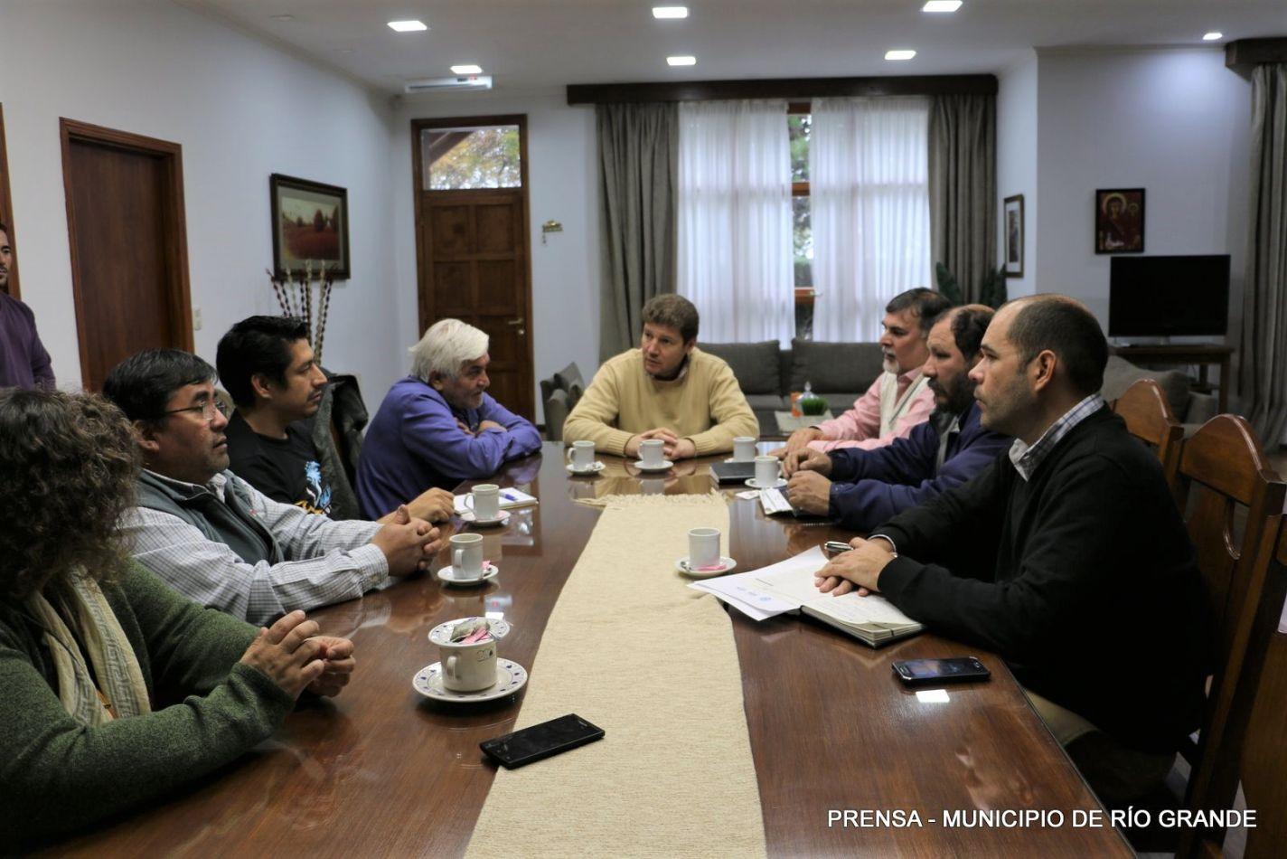 Gustavo Melella, mantuvo este martes una reunión con representantes de la Cámara Metalmecánica de la Ciudad