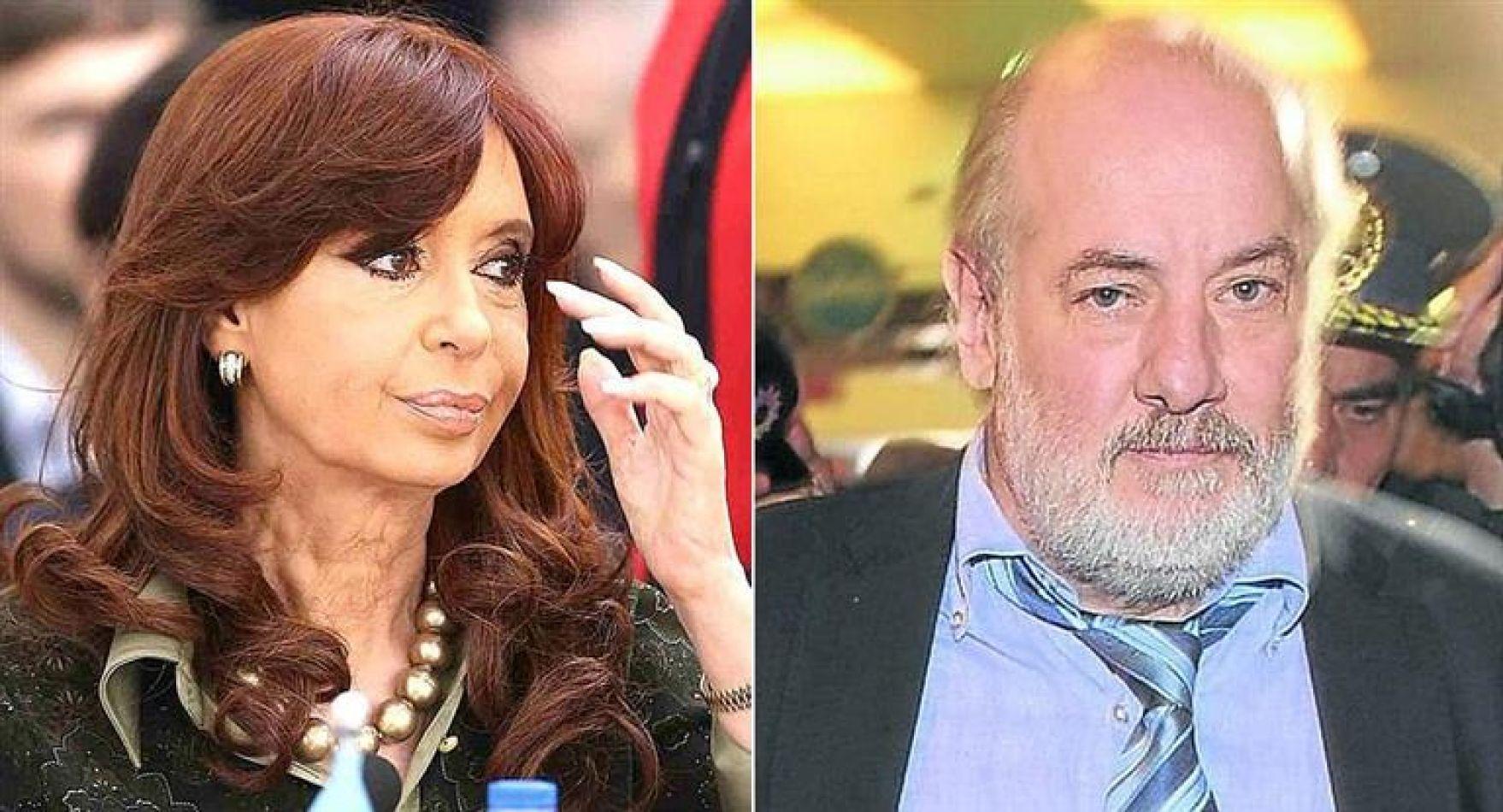 Cristina de Kirchner y Claudio Bonadio