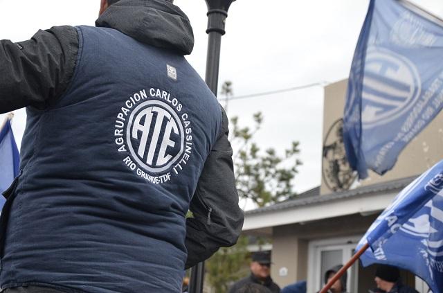 Concejales de Río Grande recibieron a integrantes de ATE
