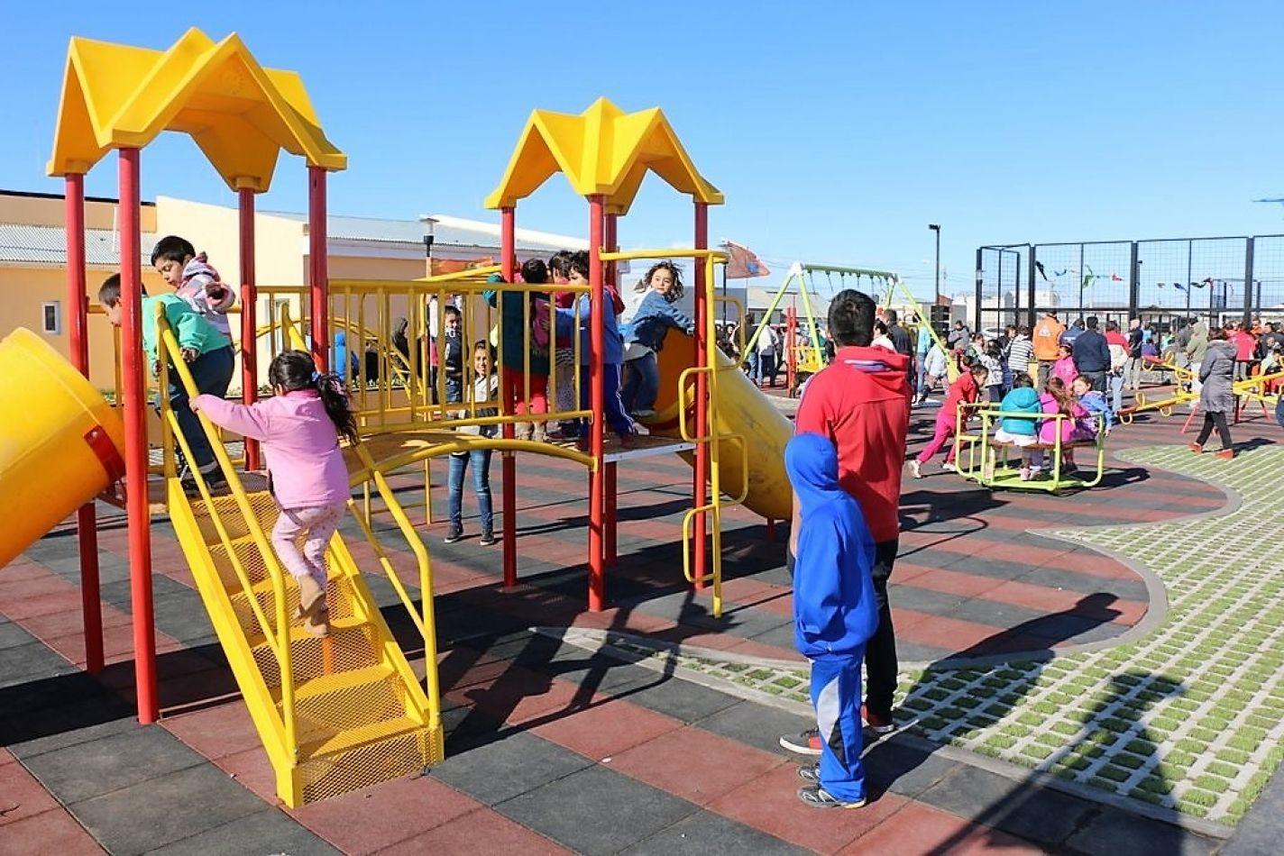 Jornada recreativa en el Mes del Niño.