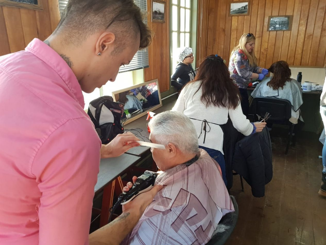 Staff de peluqueros