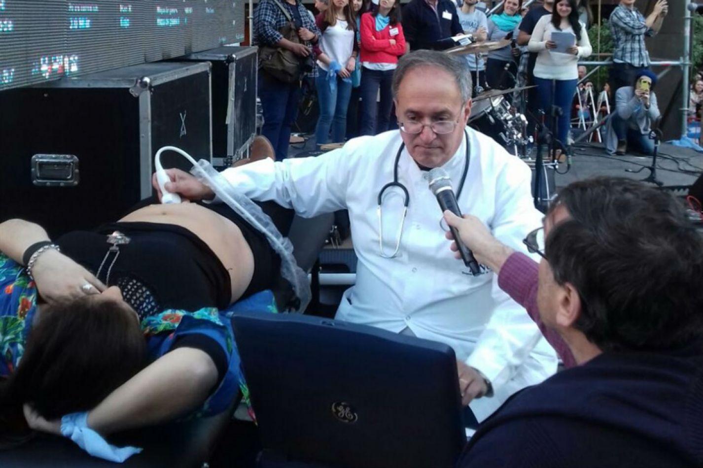 Córdoba con ecografías en vivo contra el aborto