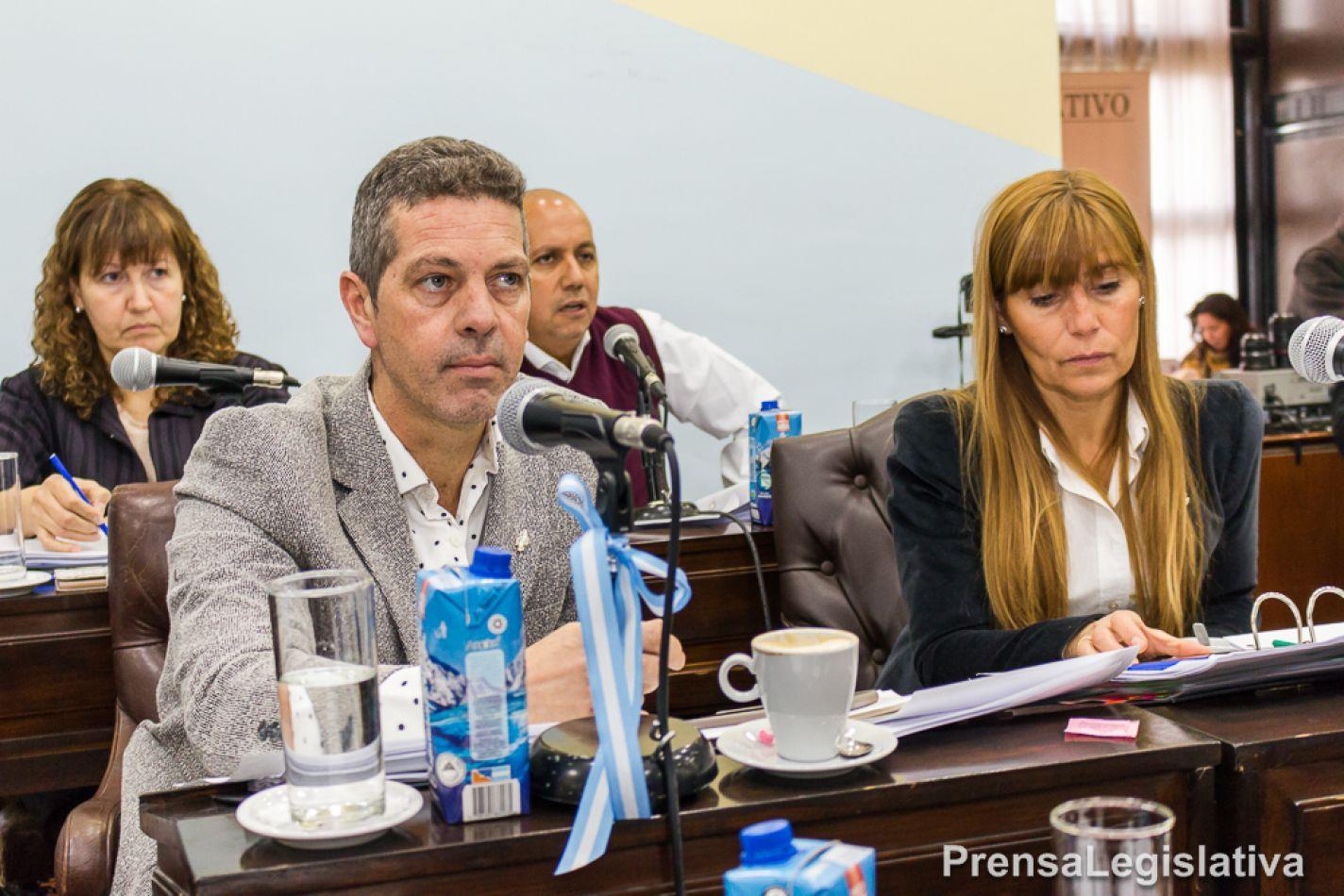 Bloque MPF de la Legislatura provincial.