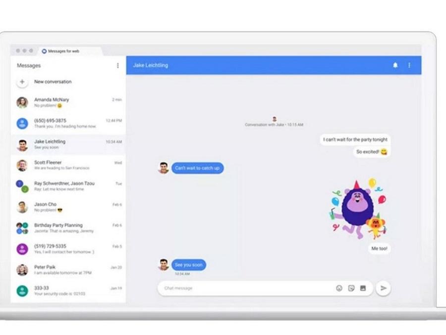 Chat, la nueva app de Google para competir con WhatsApp