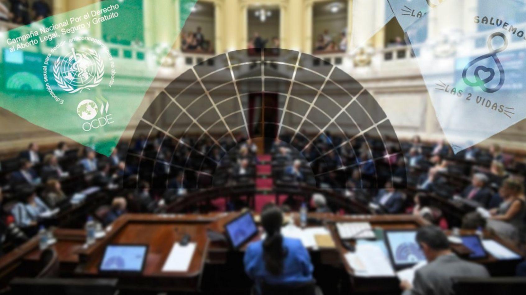Senado adelanta la sesión para tratar el proyecto de legalización del aborto
