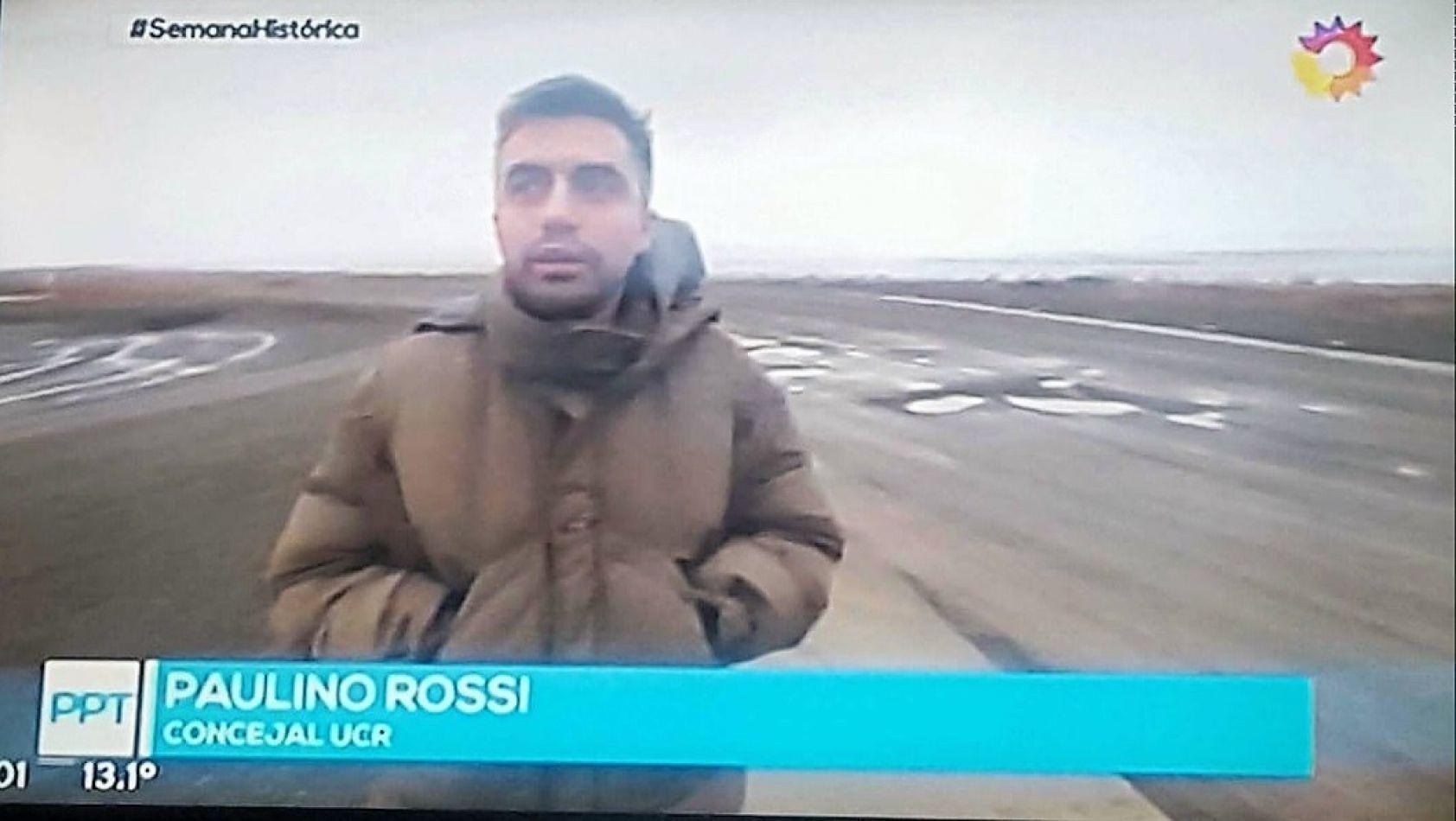 Paulino Rossi en el programa de Jorge Lanata.