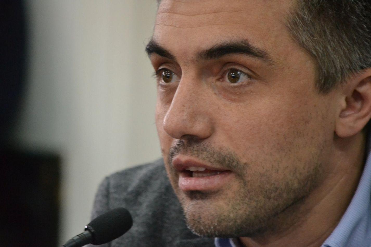 Concejal de la UCR Paulino Rossi.