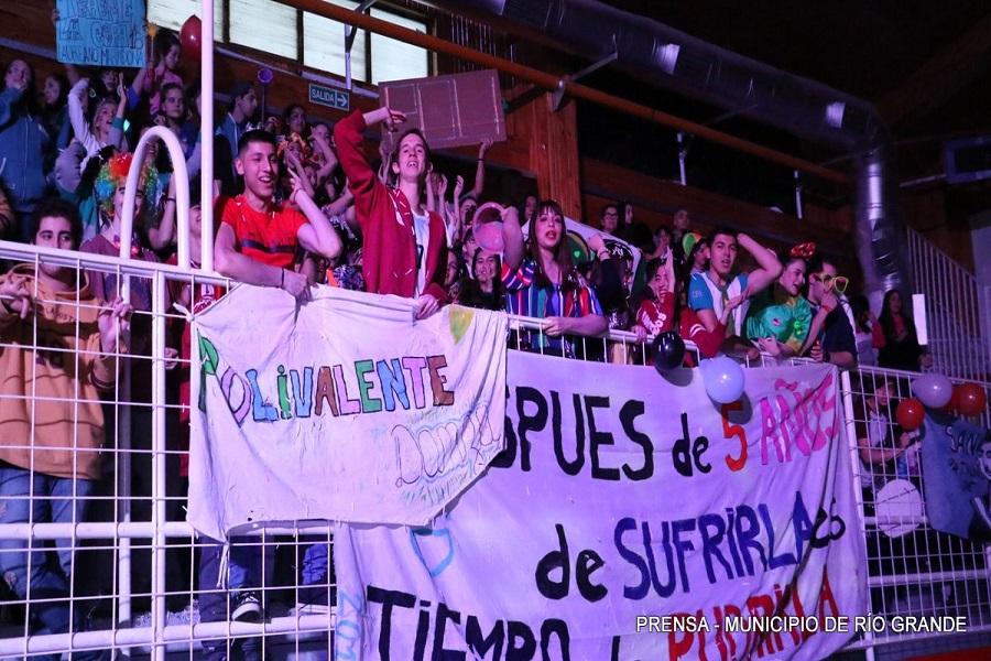 Olimpíadas Estudiantoiles 2018: Más de 1.500 jóvenes coparon el Margalot