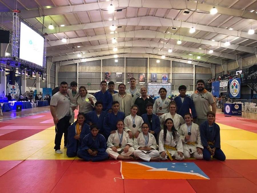 La Federación de Judo y Defensa Personal de Tierra del Fuego logró 15 podios en el Nacional Apertura 2018 de Judo