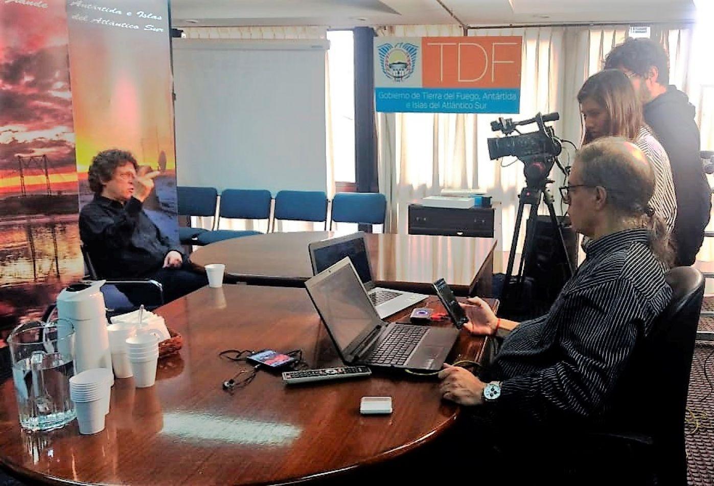Primera transmisión en vivo de la TV pública fueguina desde Bs. As.