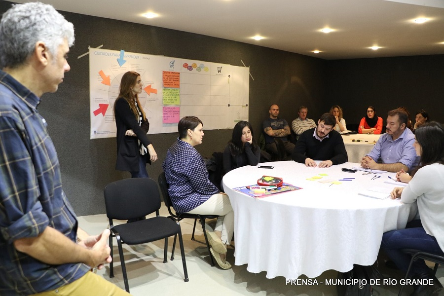 Se realizó el segundo taller Ciudades para Emprender