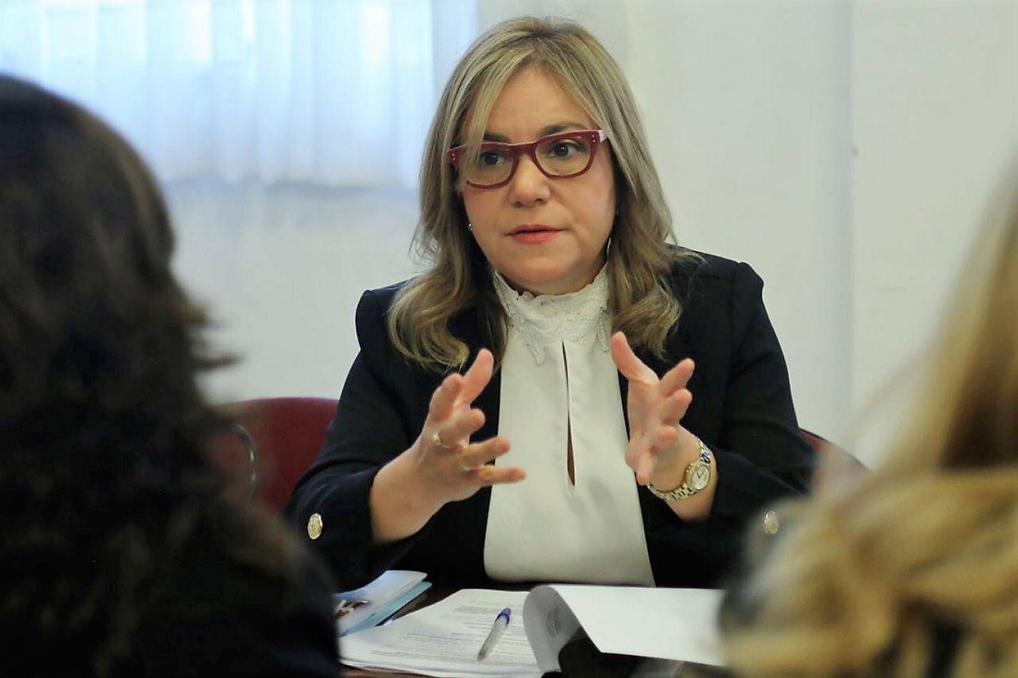 Senadora nacional Miriam Boyadjian.