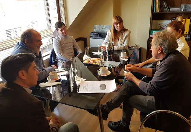 La legisladora Boyadjian recibió al ajedrecista Federico Torres