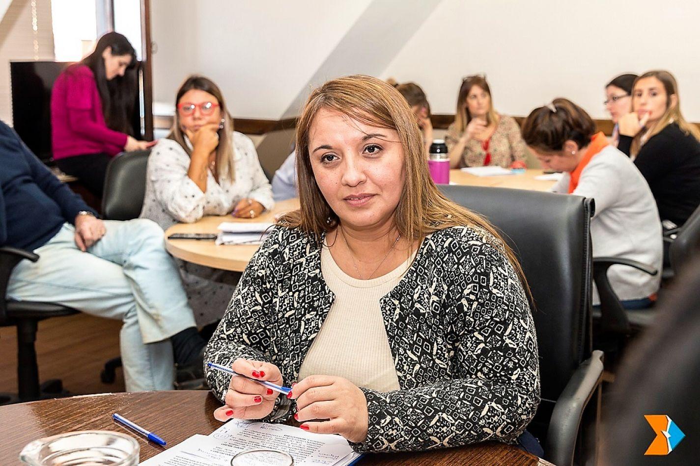 Andrea Freites, legisladora.