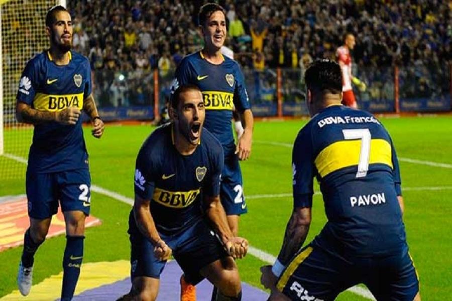 Boca derrotó a Unión en un duro partido y quedó a un punto del Bicampeonato