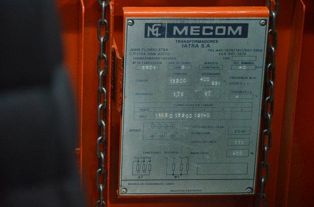 La Cooperativa Eléctrica entregó un transformador a la UTN