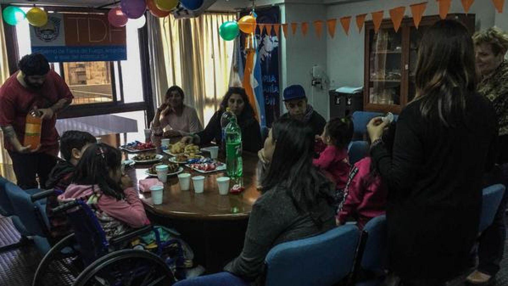 Casa Tierra del Fuego celebró el Día del Niño con familias derivadas por temas de salud