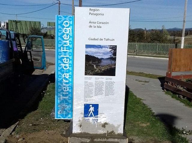 Tierra del Fuego cuenta con nueva señalética Turística