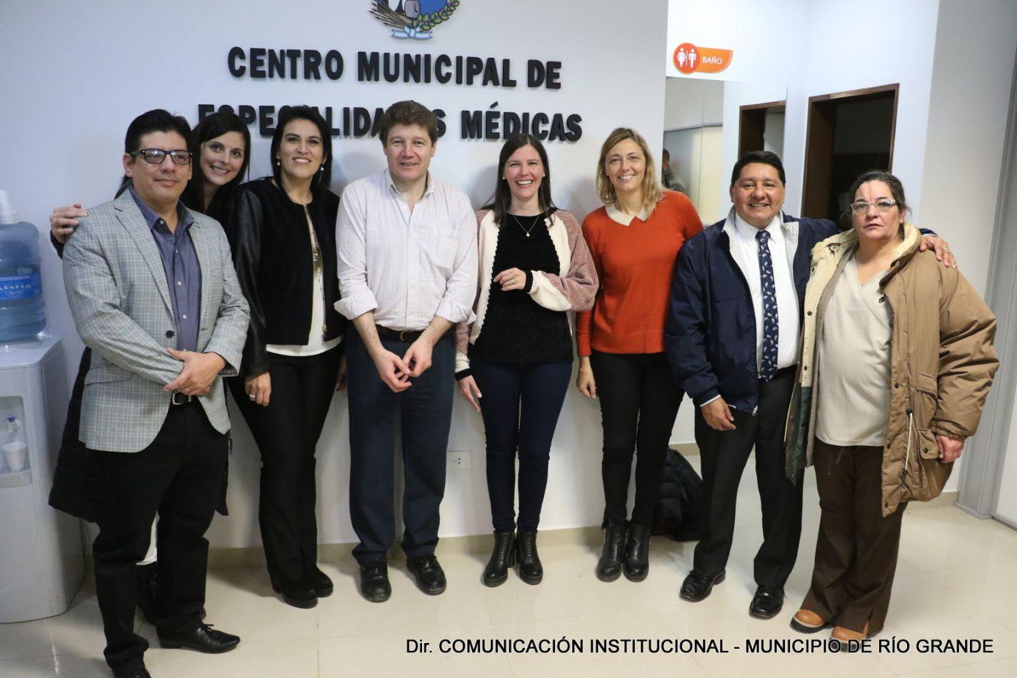 El Centro Municipal de Especialidades Médicas quedó inaugurado