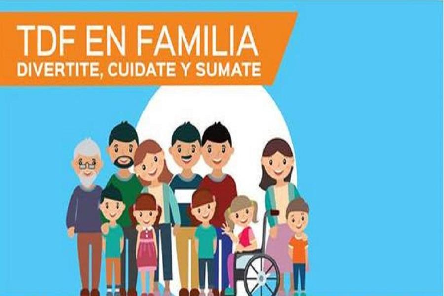Este sábado se realizará en Río Grande una nueva edición del programa TDF en Familia
