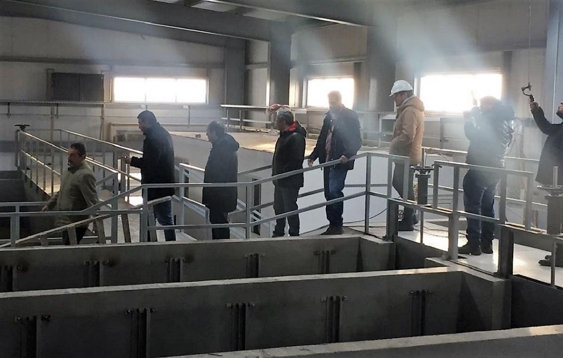 Planta Potabilizadora: Municipales brindaron detalles técnicos a funcionarios provinciales