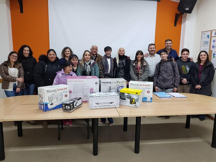 El municipio entregó equipamiento y herramientas a emprendedores locales