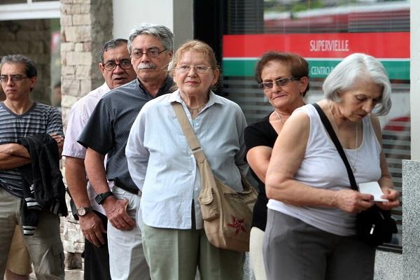 Las jubilaciones subirán un 6,67% en septiembre