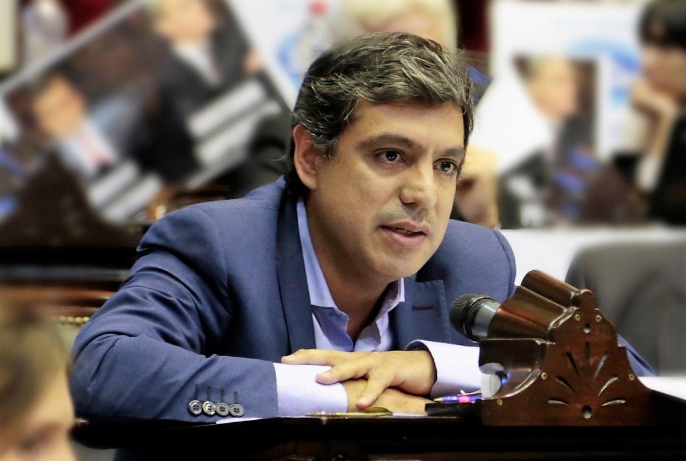 Matías Rodríguez, diputado nacional por Tierra del Fuego.