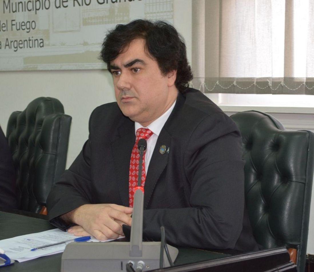 Presidente del Concejo Deliberante Alejandro Nogar
