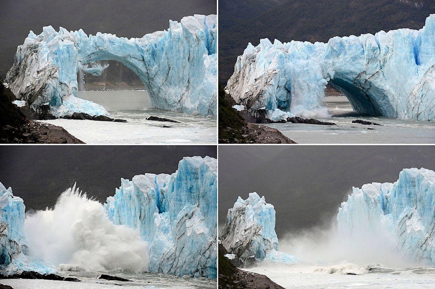 Los glaciares se rompen y los científicos piden ayuda.