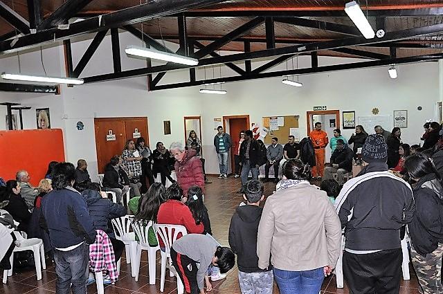 Funcionarios del Municipio visitaron a vecinos de Chacra XI