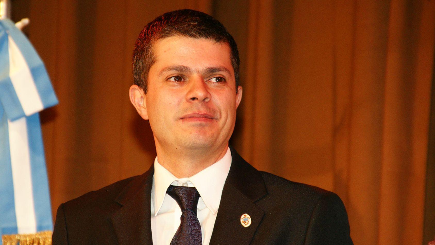 el subsecretario de Modernización e Innovación a cargo del área de Relaciones Internacionales Municipio de Río Grande, Licenciado Andrés Dachary