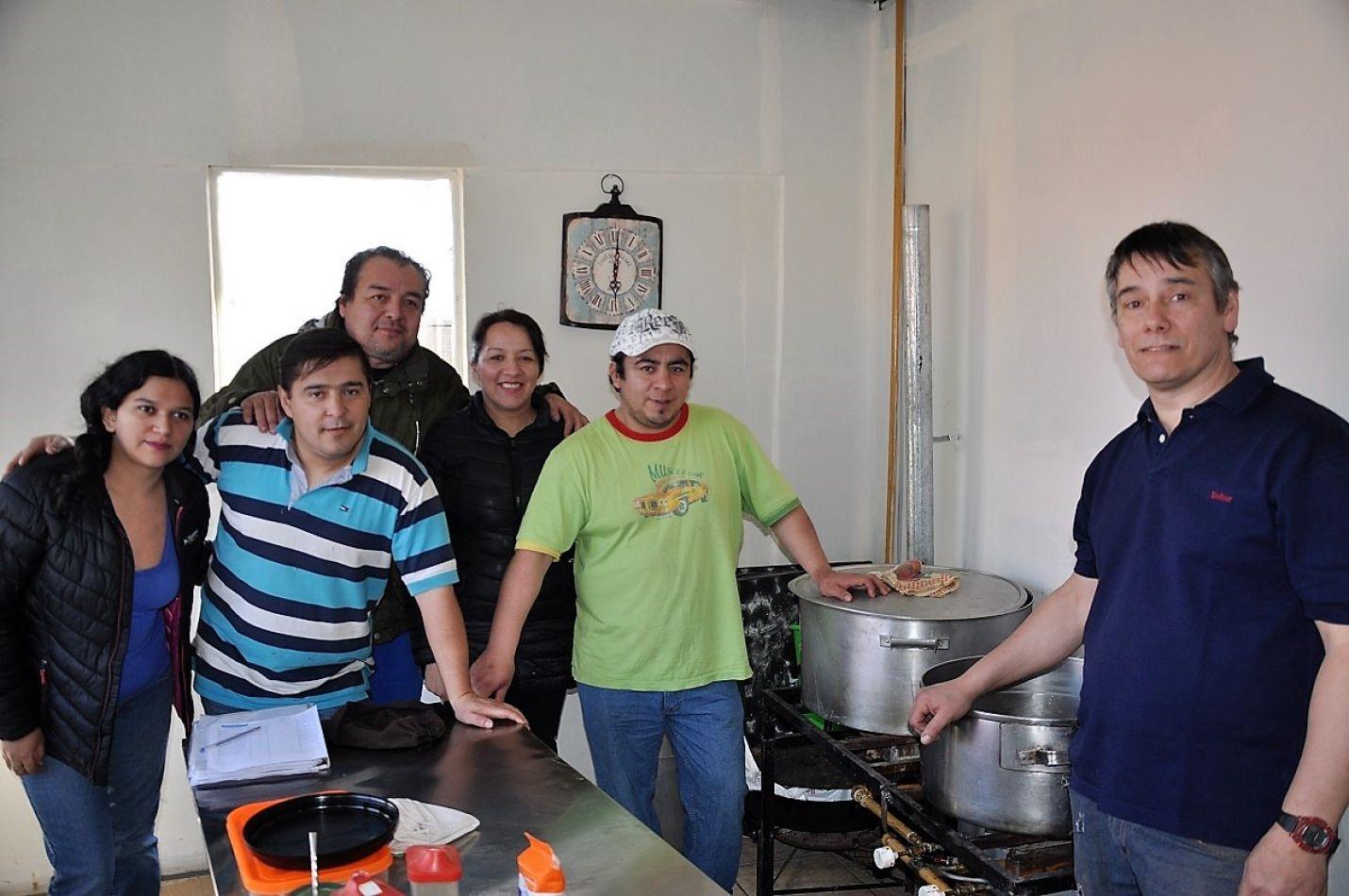 Nuevo comedor en Río Grande.