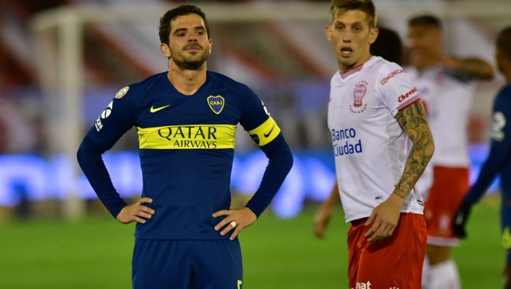 Gago no pudo brillar en su regreso en Boca.