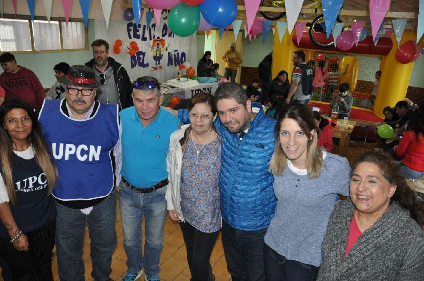 Gastón Natale acompañó a la UPCN en el Día del Niño