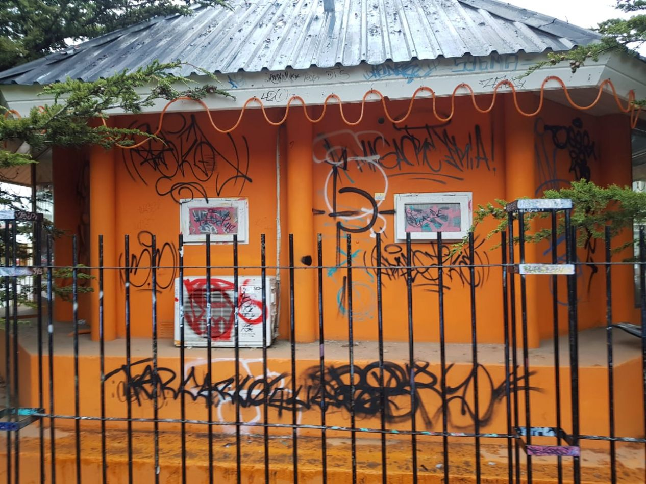 Oficina de Turísmo de Río Grande sufrió de vandalísmo este fín de semana