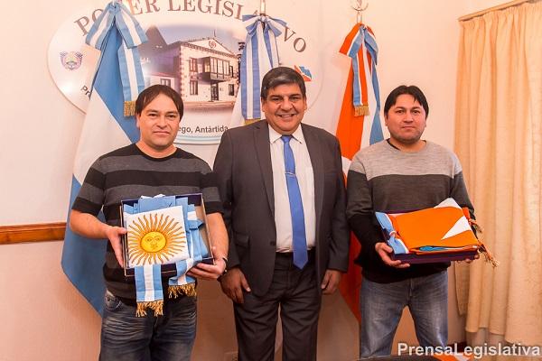 Arcando recibió a la asociación Gauchos Mi Tierra Fueguina