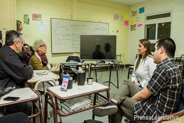 Andrea Freites valoró las prácticas profesionalizantes del CENT Nº 11