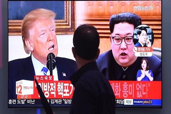 """Trump amenazó a Kim con la """"aniquilación"""" si no desnucleariza y reavivó la tensión"""