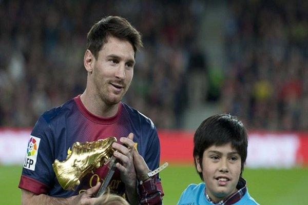 Messi, ganador de la Bota de Oro 2017/18