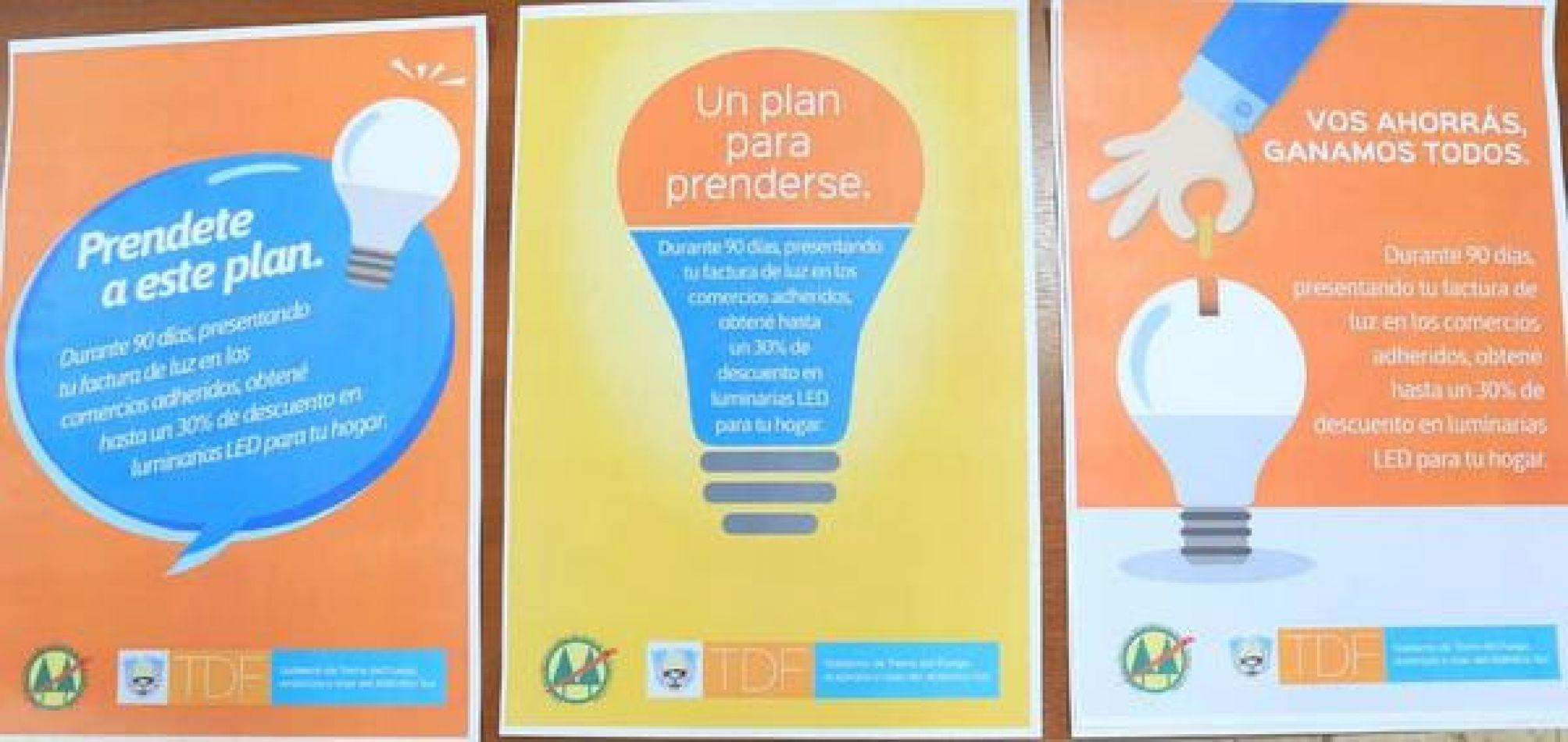 Comercios de Río Grande ofrecerán descuentos para el cambio de luminaria