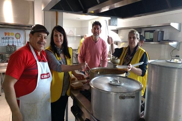 Campaña solidaria: El Club de Leones prepara un gran locro criollo