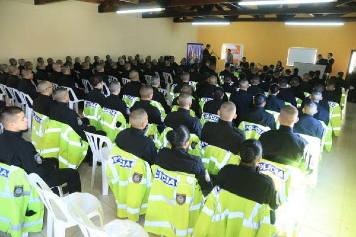 Se dictó capacitación sobre violencia de género a cadetes y aspirantes de la policia de la provincia