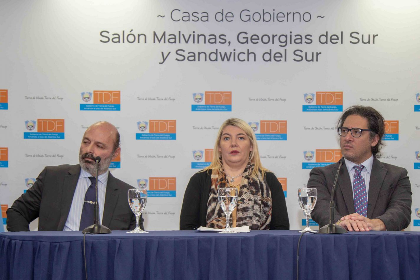 """La Gobernadora Bertone junto al Ministro de Justicia de Nación, dieron inicio al taller """"Introducción a la atención de víctimas de delitos y violencia"""