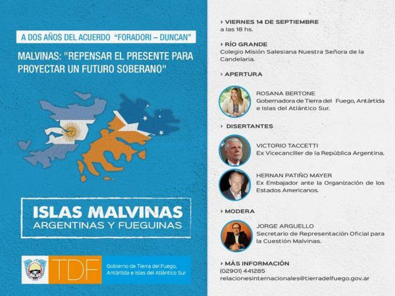 Importante evento provincial a dos años del acuerdo Foradori-Duncan