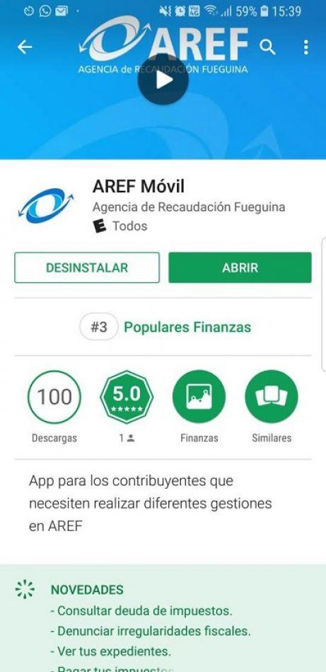 Aplicación AREF