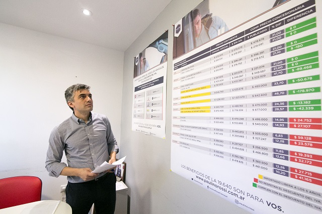 El concejal Rossi presentó un segundo informe sobre autos 0km.