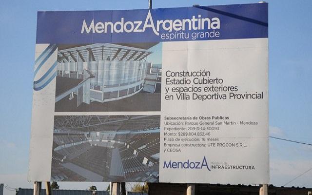 La misma empresa que construyó el microestadio en Mendoza, lo hará en Río Grande.