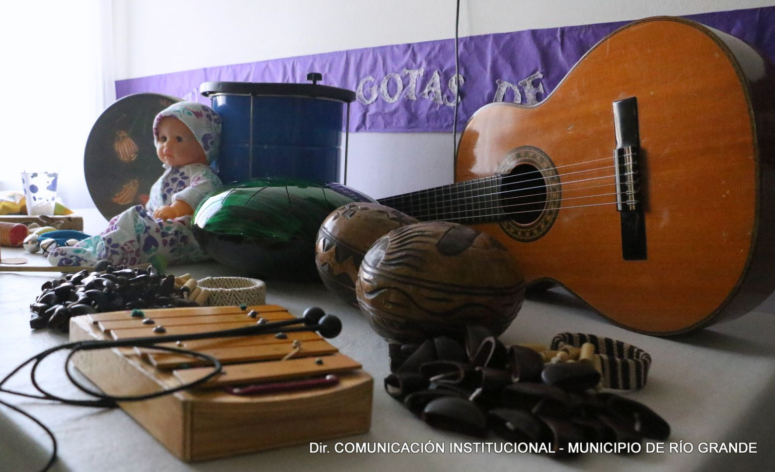 Musicoteraía entre las nuevas actividades de la Casa de María