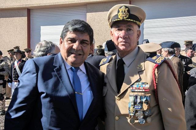 Arcando brindó su homenaje al veterano que derribó un Sea Harrier en Malvinas